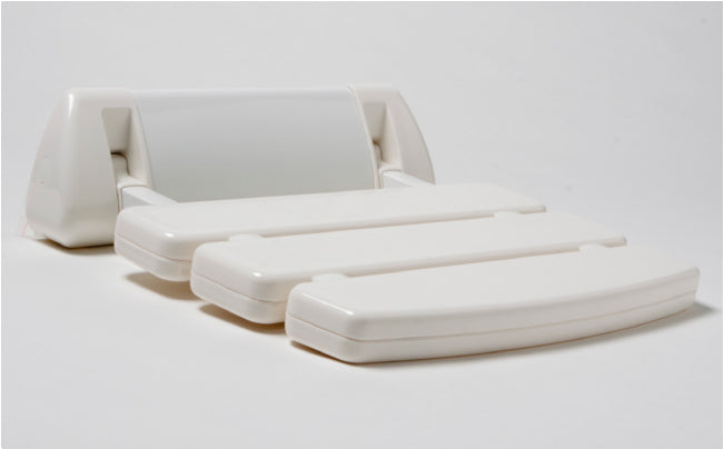 White Relax Seat for Steam Rooms