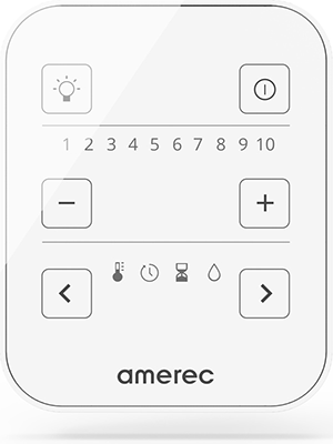 Superior Saunas: Steam Control - Amerec A3 Steam Control Panel