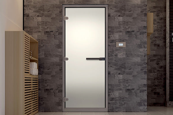 Superior Sauna Frosted Steam Door