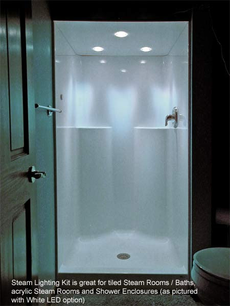 Steam Room Light Kit Superior Saunas