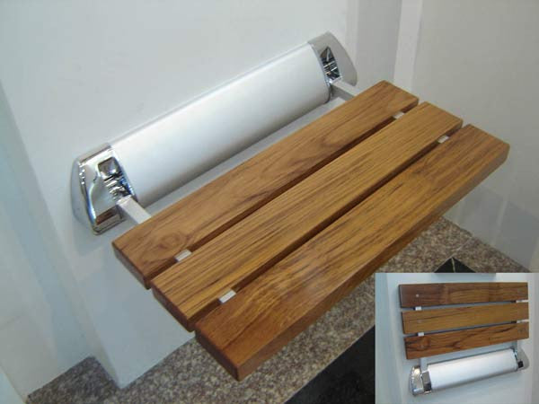 Superior Saunas: Steam Accessory - Teak Wood Seat for Steam Rooms