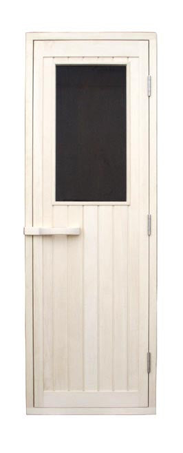 "Superior Saunas: Sauna Door - Aspen Half Glass Door 24"" x 77"""