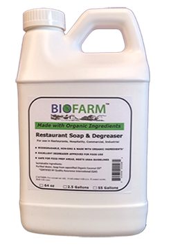 Biofarm™ Soap & Degreaser 64 oz (Case of 5)