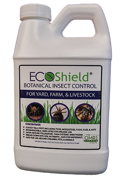 EcoShield Botanical Insect Control for Bovine, Poultry, & Swine (5g Case)