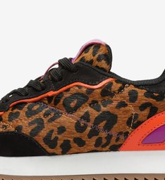TÊNIS NINETY NEW RETRO ANIMAL PRINT NEON