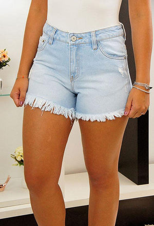 Shorts Jeans Claro Revanche