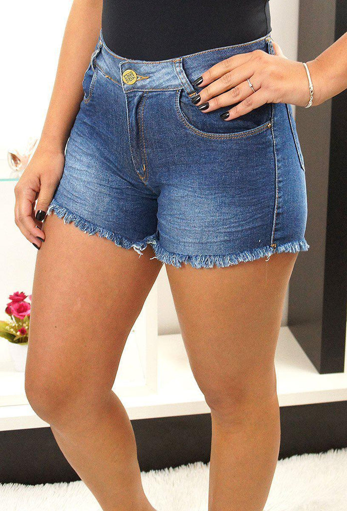 Shorts Jeans Escuro HiLook - Loja VintedoisK
