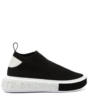 SNEAKER IT SCHUTZ BOLD KNIT BLACK