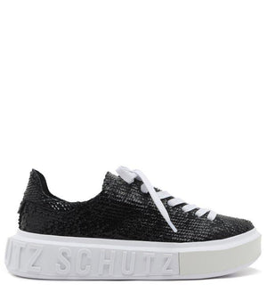 TÊNIS IT SCHUTZ SNAKE GLAM BLACK
