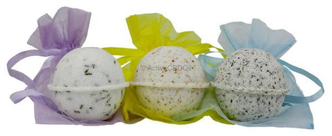 CBD Bath Bombs (40mg CBD per Bath Bomb)