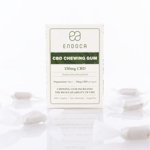 Buy Endoca CBD Chewing Gum (150 mg CBD - 10 Pieces) | Same Day Shipping