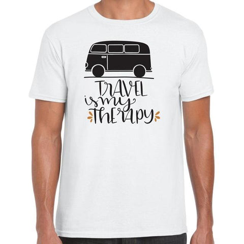 1 / S Travel Is My Therapy T shirt
