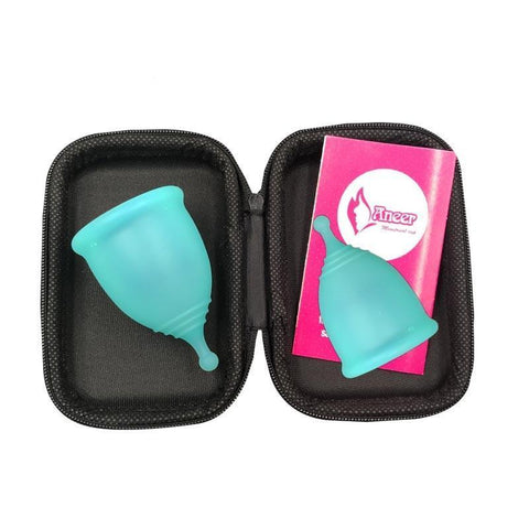 2 PCS Reusable Menstrual Cup