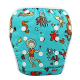 YK35 / One Size Adjustable SWIM DIAPER Baby Adjustable Reusable Washable