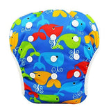 YK40 / One Size Adjustable SWIM DIAPER Baby Adjustable Reusable Washable