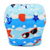 YK60 / One Size Adjustable SWIM DIAPER Baby Adjustable Reusable Washable