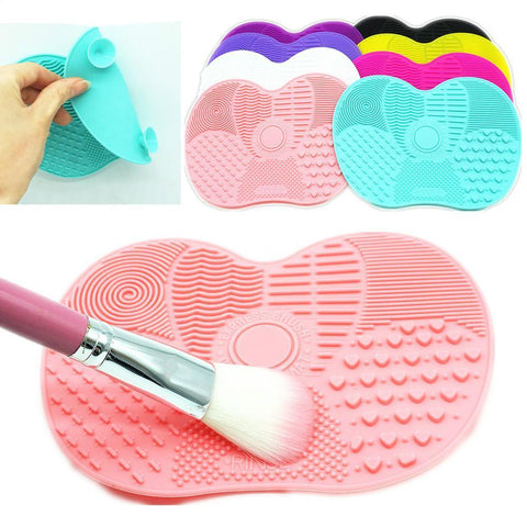 Silicone Make Up Brush Cleaning Pad - gohuh
