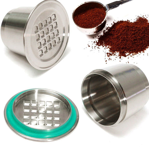 Refillable/Reusable Coffee Capsule For Nespresso - Zero Waste Coffee - gohuh