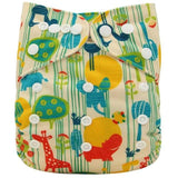 OB101 / one size DIAPER Baby Adjustable Reusable Washable + Insert