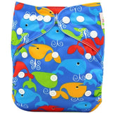 OB110 / one size DIAPER Baby Adjustable Reusable Washable + Insert