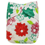 OB128 / one size DIAPER Baby Adjustable Reusable Washable + Insert