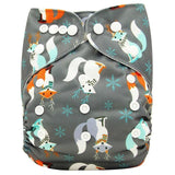OB140 / one size DIAPER Baby Adjustable Reusable Washable + Insert