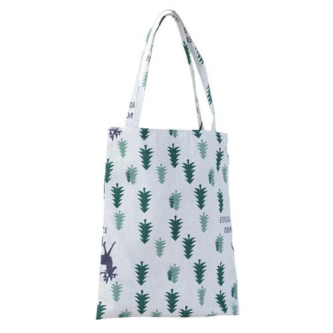 A Bag Eco Cotton Linen Foldable Tote Bag