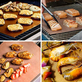 Reusable Non-Stick Grill and Bake Mats