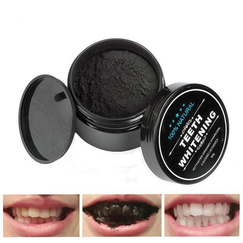 Natural Teeth Whitening Oral Care Charcoal Powder