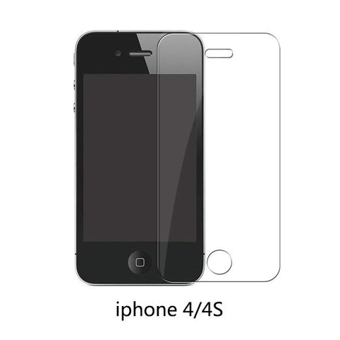 iPhone 4  4S / 9H tempered glass Protective Tempered Glass Compatible with the 11 Newest iPhone Sizes