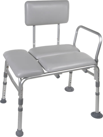 Padded Transfer Bench (Tool-free Assembly Back, Legs and Arms)