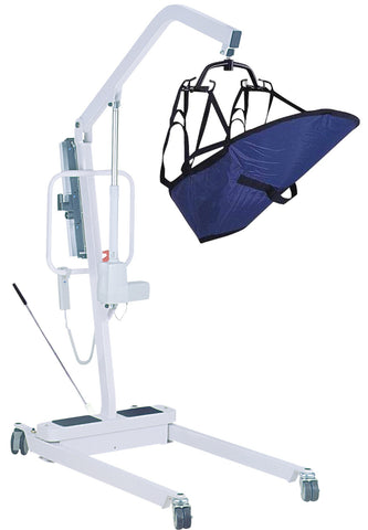 Battery-Powered Patient Lift with 6-Point Cradle