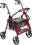 "Duet Rollator/Transport Chair, 8"" Casters (Padded Seat, Loop Locks)"