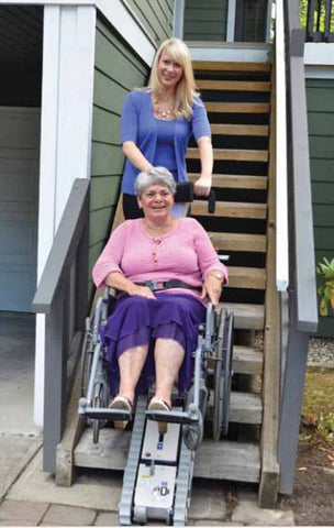 Stair-Trac - Portable Wheelchair Lift