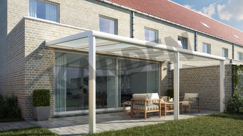 pergola alu polycarbonate karden first kit