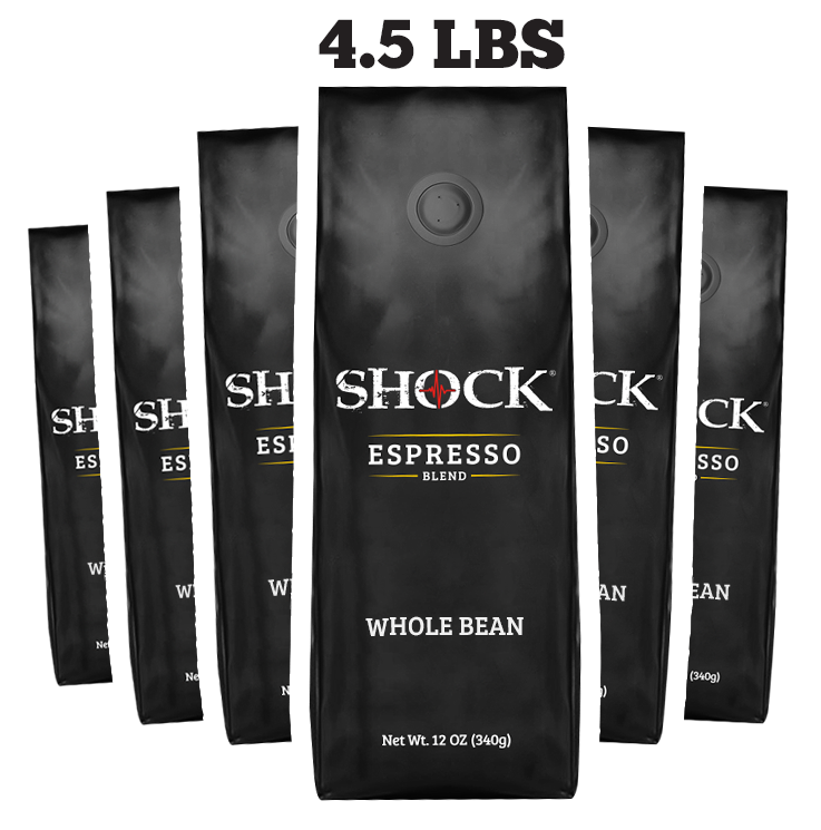 Espresso Whole Bean (6-12OZ BAGS)