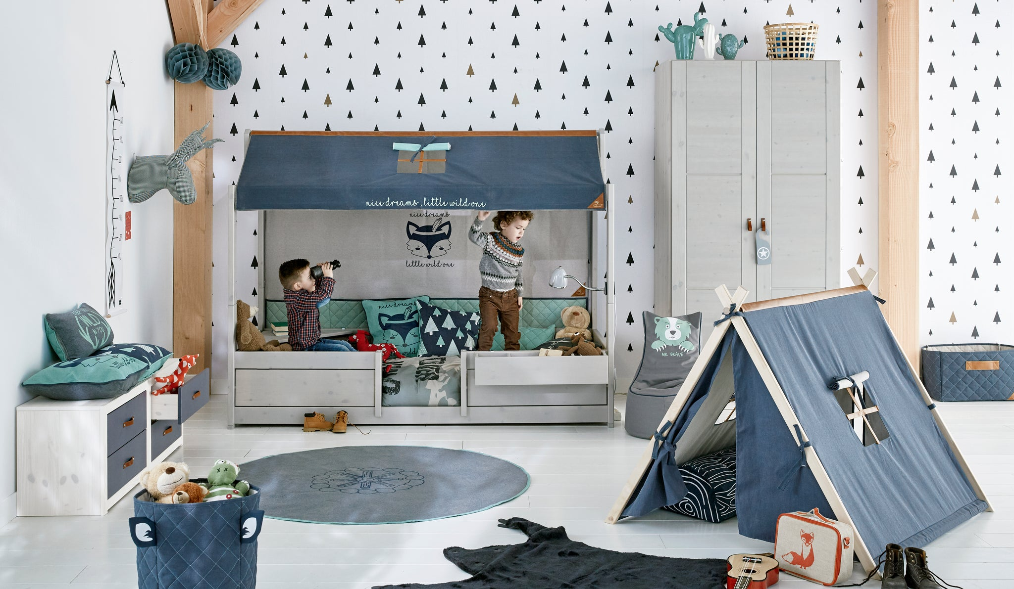 Forest Ranger Kids Bedroom theme - Huckleberry Kids Rooms