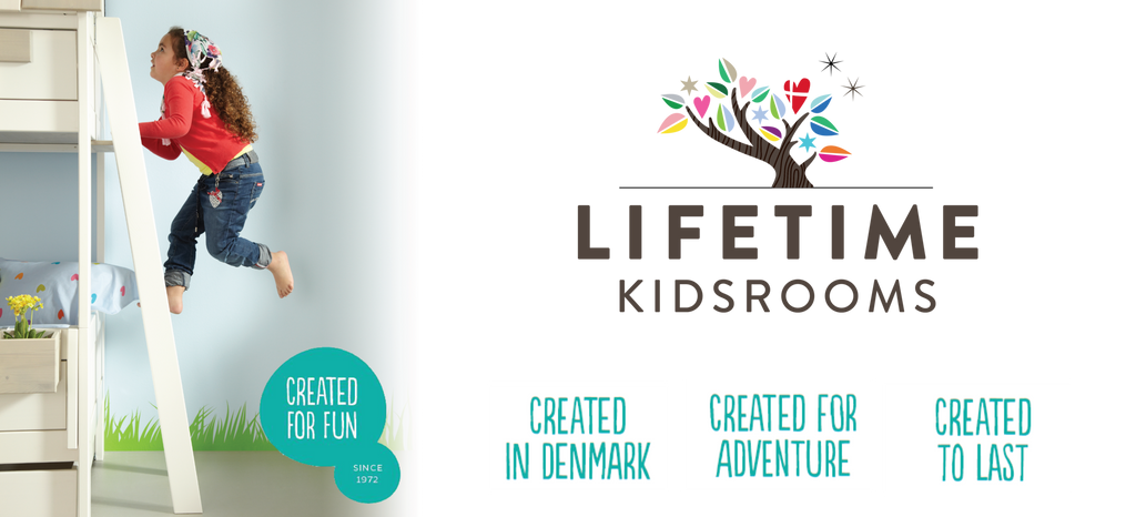 Lifetime Kidsrooms- Huckleberry Kids Rooms - Created for Fun