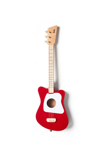 Loog Mini Guitar - Red