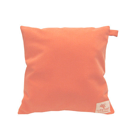 SUGAR PIE - CORAL SQUARE CUSHION