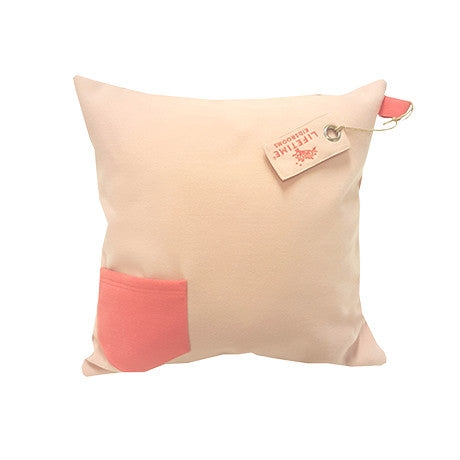 SUGAR PIE - BLUSH SQUARE CUSHION