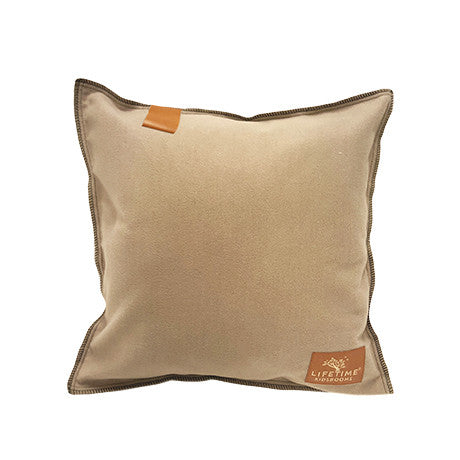 ADVENTURE - SAND SQUARE CUSHION