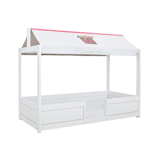 4-IN-1 Tent Bed for Kids in White - Huckleberry Kids Rooms