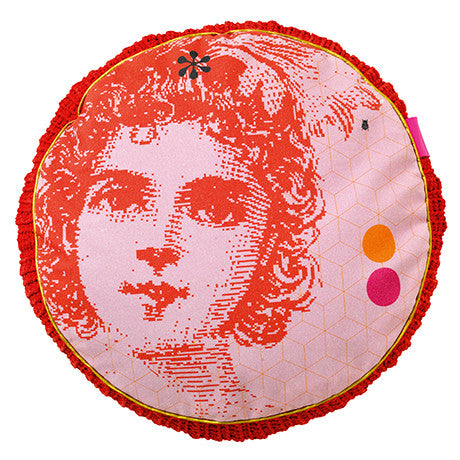 WONDERLAND - ALICE ROUND CUSHION