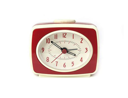 Little Retro Alarm Clock - Red