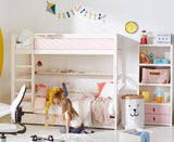Solid Wood Bunk Bed | Huckleberry Kids Rooms