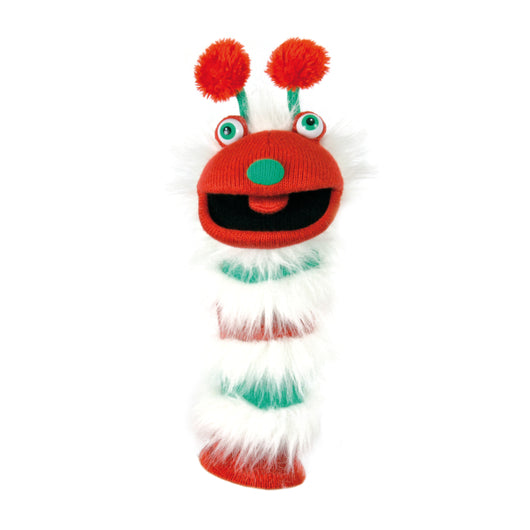 Knitted Hand Puppet - Chris