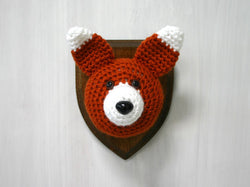 Crochet Taxidermy, Fox - Huckleberry Kids Rooms