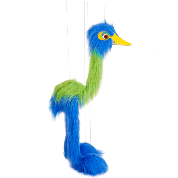 Giant Blue Bird - Marionette