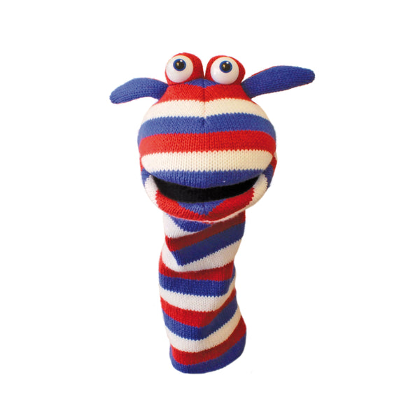 Knitted Hand Puppet - Jack